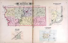 Monroe Township, Rush, Avenue City, Cawood, Andrew County 1909