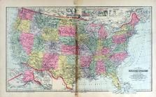 United States Map, Andrew County 1909