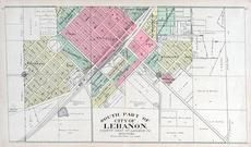 Lebanon - South, Laclede County 1912c
