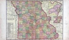 Missouri State Map, Laclede County 1912c
