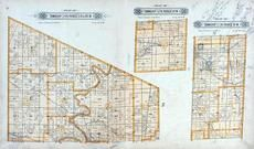 Townships 32, 33 and 34 N Ranges XII W, Township 34 N Range XIII W, Laclede County 1912c