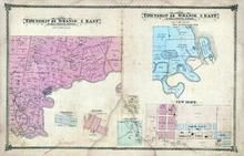 Township 48 N., Ranges 2 and 3 Eash, New Hope, Chantilla, Brussels, New Salon, Linn's Mill, Lincoln County 1878