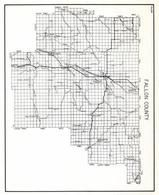 Fallon County, Webster, Calumet, Baker, Tonquin, Westmore, Dodge, Kingmont, Ollie, Knobs, Montana State Atlas 1950c
