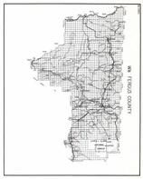 Fergus County - West, Lewis and Clark National Forest, Hanover, Baxter, Garnell, McClave, Buffalo, Lewistown, Hanover, Montana State Atlas 1950c