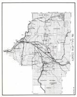 Gallatin County - NorthMt. Blackmote, Vincent, Anceney, Belgrade, Manhattan, Menard, Accola, Willow Creek, Clarkston, Montana State Atlas 1950c
