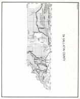Gallatin County - South, Yellowstone, Grayling, Madison Range, Eldridge, Cougar Creek, Montana State Atlas 1950c