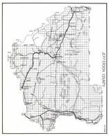 Jefferson County, Deerlodge National Forest, Boulder, Corbin, Hot Springs, Elk Park, Bernice, Fuller, Portal, Clancy, Montana State Atlas 1950c