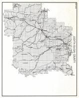 Judith Basin County, Mendon, Barrows, Lewis and Clark National Forest, Hauck, Benchland, Stanford, Dover, Hughesville, Montana State Atlas 1950c