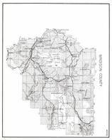 Madison County, Beaverhead National Forest, Twin Bridges, Ron Rod, Lavon, Brown, Rochester, Silver Star, McAllister, Norris, Montana State Atlas 1950c
