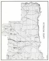 Petroleum County, Flatwillow, Winnett, Dovetail, Fort Peck Game Range, Teigen, Little Bear Lake, Blakeslee, Montana State Atlas 1950c
