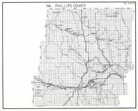Phillips County - North, Malta, Bowdoin, Dodson, Lost Lake, Lovejoy, Joseph, Chapman, Whitewater, Valleytown, Corwine, Montana State Atlas 1950c