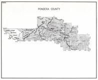 Pondera County, Withey, Conrad, Pershing, Brady, Black Feet Indian Reservation, Williams, Fowler, Burke, Manson, Montana State Atlas 1950c