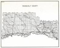 Roosevelt County, Poplar, chelsea, Macon, Wolf Point, Fort Peck Indian Reservation, Lakeside, Culbertson, Blair, Montana State Atlas 1950c