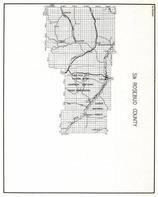 Rosebud County - South, Gopher, Custer National Forest, Cheyenne Indian Reservation, Ashland, Birney, Castle Rock, Montana State Atlas 1950c