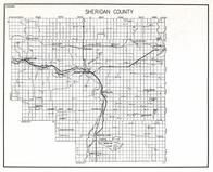 Sheridan County, Homestead, Medicine lake, Plentywood, Archer, Raymond, Daleview, Redstone, Dagmar, Coalridge, Montana State Atlas 1950c