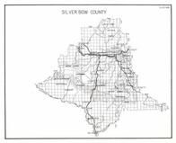 Silver Bow Bounty, Beaverhead National Forest, Deer Lodge, Maiden Rock, Quinn, Melrose, Penfield, Butte, Walkerville, Montana State Atlas 1950c
