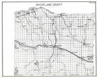 Wheatland County, Barlowton, Winnecook, Shawmut, Hedgesville, Liveing Springs, Oxford, Judith Gap, Wright, Twodot, Selkirk, Montana State Atlas 1950c