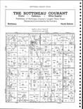 Willow Vale Township, Omemee, Belmar, Bottineau County 1951