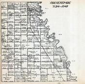 Abercrombie Township, Township 134, Range 49, Richland County 1922