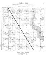 Buchanan Township, James River, Stutsman County 1958