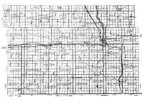 Highway Map of Stutsman County 2, Stutsman County 1958