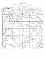 Homer Township, James River, Stutsman County 1958