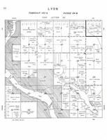 Lyon Township, Lakeview Park, Jim Lake, Medicine Lake, Alkali Lake, Arrowwood, Stutsman County 1958
