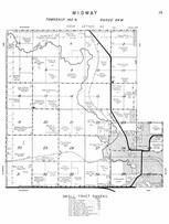 Midway Township, Jamestown, James River, Pipestem Creek, Stutsman County 1958