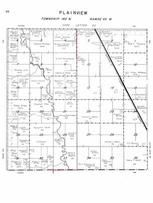 Plainview Township, Pipestem Creek, Stutsman County 1958