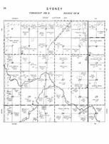 Sydney Township, Beaver Creek, Buffalo Creek, Stutsman County 1958