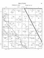 Walters Township, Pipestem Creek, Stutsman County 1958