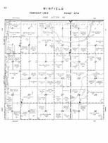 Winfield Township, James River, Stutsman County 1958
