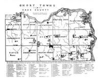 Ghost Towns Of Cass County Atlas Cass County Published By - Map of nebraska towns