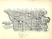 Douglas County Outline Map