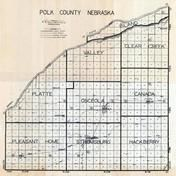 Polk County Map, Polk County 1930c