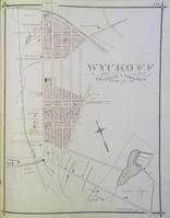 Wyckoff - 05L157.123, Bergen County 1876 Six plates from edition at Winterthur