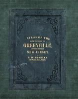Cover, New Jersey State Atlas 1873 Jersey City and former Greenville Township