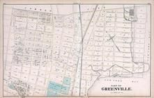 Greenville 1, New Jersey State Atlas 1873 Jersey City and former Greenville Township