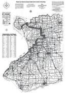Erie County Map, Erie County 1940