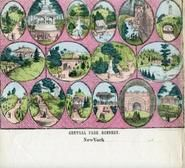 New York City 1850 to 1899 Central Park Scenery - 09x048.6