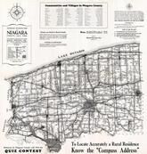 Niagara County Map, Niagara County 1939