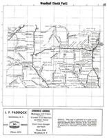 Woodhull Township - South, Holden Creek, Camp Brook, Steuben County 1961