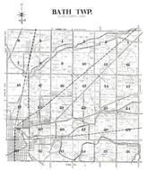 Bath Township, Twin Lake, Lost Creek Reservoir, Allen County 1946