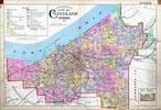 Index Map, Cleveland 1898