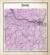 Falls Township, Logan, Stiversonville, Hocking River, Hocking County 1876