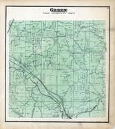 Green Township, Haydenville, Hocking River, Maysville, Hocking County 1876