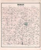 Berlin Township, Mill Pond, Holmes County 1875