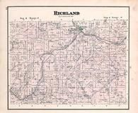Richland Township, Napoleon, Black Creek, Holmes County 1875