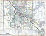 Index Map, Mahoning County 1915 - Youngstown and Struthers