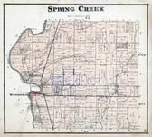 Spring Creek Township, Rossville, Huntersville, Miami County 1871